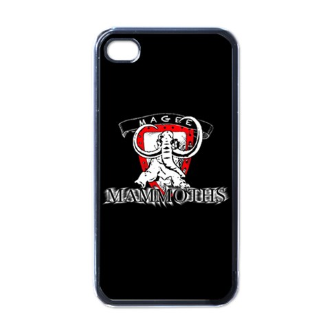 Mammoths Iphone By Simon Mason   Apple Iphone 4 Case (black)   S3j9z5wt02dm   Www Artscow Com Front