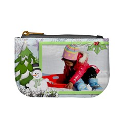 Mini Coin Purse   Winter By Angel   Mini Coin Purse   Ehf3x03mddqf   Www Artscow Com Front