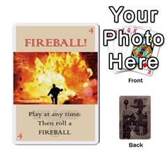 Indiana Jones Fireball Base Set By German R  Gomez   Playing Cards 54 Designs   Ecd3sjvbrtny   Www Artscow Com Front - Diamond7