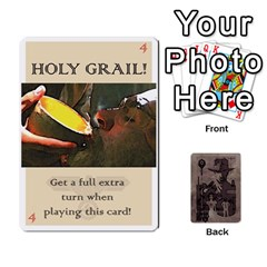 Indiana Jones Fireball Base Set By German R  Gomez   Playing Cards 54 Designs   Ecd3sjvbrtny   Www Artscow Com Front - Diamond10