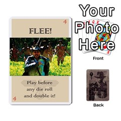 Indiana Jones Fireball Base Set By German R  Gomez   Playing Cards 54 Designs   Ecd3sjvbrtny   Www Artscow Com Front - Club4