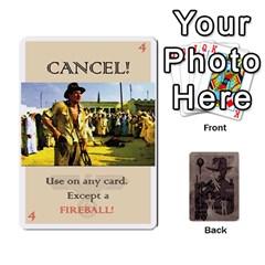 Indiana Jones Fireball Base Set By German R  Gomez   Playing Cards 54 Designs   Ecd3sjvbrtny   Www Artscow Com Front - Club7