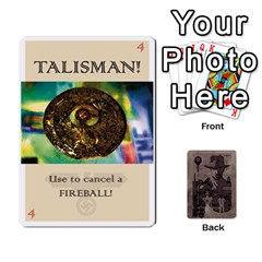 Indiana Jones Fireball Base Set By German R  Gomez   Playing Cards 54 Designs   Ecd3sjvbrtny   Www Artscow Com Front - Spade7