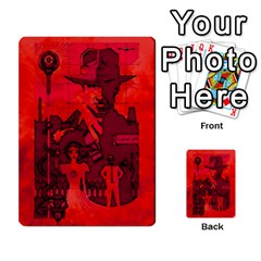 Indiana Jones Fireball Expansions   Caves  By German R  Gomez   Playing Cards 54 Designs   Hs29y2ukrkff   Www Artscow Com Back