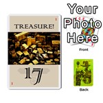 indiana jones fireball INCAN GOLD - Playing Cards 54 Designs