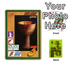 Indiana Jones Fireball Incan Gold By German R  Gomez   Playing Cards 54 Designs   67551ms4nmwz   Www Artscow Com Front - Club2