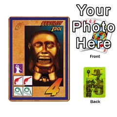 Indiana Jones Fireball Incan Gold By German R  Gomez   Playing Cards 54 Designs   67551ms4nmwz   Www Artscow Com Front - Club3
