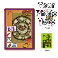 Indiana Jones Fireball Incan Gold By German R  Gomez   Playing Cards 54 Designs   67551ms4nmwz   Www Artscow Com Front - Club4