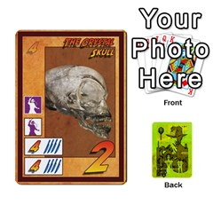 Indiana Jones Fireball Incan Gold By German R  Gomez   Playing Cards 54 Designs   67551ms4nmwz   Www Artscow Com Front - Club8