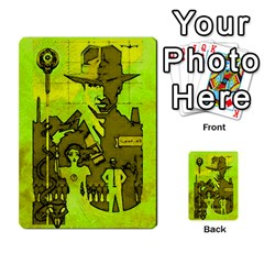 Indiana Jones Fireball Incan Gold By German R  Gomez   Playing Cards 54 Designs   67551ms4nmwz   Www Artscow Com Back