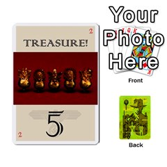 Indiana Jones Fireball Incan Gold By German R  Gomez   Playing Cards 54 Designs   67551ms4nmwz   Www Artscow Com Front - Spade9