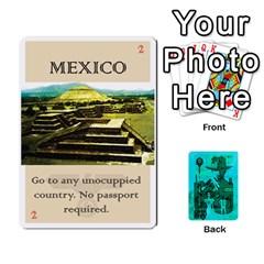 Jack Indiana Jones Fireball Raiders Lost Ark By German R  Gomez   Playing Cards 54 Designs   3mpsawiac6vi   Www Artscow Com Front - DiamondJ