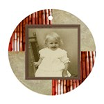 Maybe Baby Double Sided Ornament - Round Ornament (Two Sides)