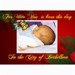 Bethlehem Christmas Photo Card - 5  x 7  Photo Cards