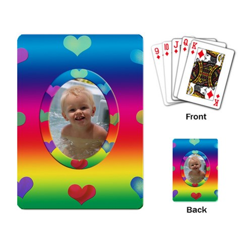 Allaboutlove Cards By Kdesigns   Playing Cards Single Design   G0zptz3dreyz   Www Artscow Com Back