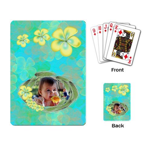 Holiday2 Cards By Kdesigns   Playing Cards Single Design   1ty8k9jkom5a   Www Artscow Com Back