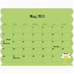 Fruitsnackcalendar2012 13 By Linnell Fowers   Wall Calendar 11  X 8 5  (18 Months)   Snm3jytu5uvq   Www Artscow Com May 2013
