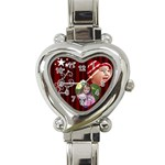 Christmas Collection  - Heart Italian Charm Watch