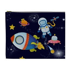 Rocket Man Extra Large Cosmetic Gift Bag By Catvinnat   Cosmetic Bag (xl)   Mkdz6f7kz008   Www Artscow Com Front