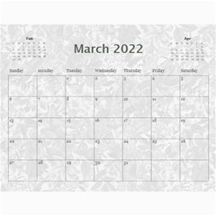 Weathered Floral 2015 Calendar By Catvinnat   Wall Calendar 11  X 8 5  (12 Months)   Ef0qdvy5yfei   Www Artscow Com Mar 2015