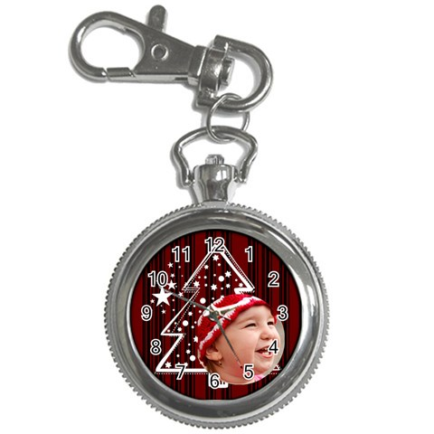 Christmas Collection  By Picklestar Scraps   Key Chain Watch   7ng7d2ynx0md   Www Artscow Com Front