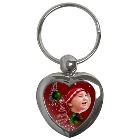 Christmas Collection  By Picklestar Scraps   Key Chain (heart)   Yw1iglf1po7i   Www Artscow Com Front