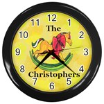 Christopher family Clock - Wall Clock (Black)