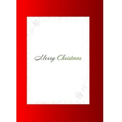 Red And Green Christmas Card 5(5x7) By Deborah   Greeting Card 5  X 7    9op4iki5ffzk   Www Artscow Com Back Inside
