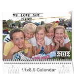 layne 2012 - Wall Calendar 11  x 8.5  (12-Months)