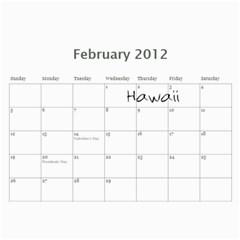 Layne 2012 By Laurie   Wall Calendar 11  X 8 5  (12 Months)   2npcspad85q6   Www Artscow Com Feb 2012