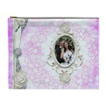 Wedded Bliss Extra Large Cosmetic Bag - Cosmetic Bag (XL)