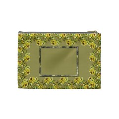 A Little Country Meduim Cosmetic Bag By Deborah   Cosmetic Bag (medium)   L6sk9y3p3eal   Www Artscow Com Back