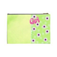 Girl (large) Cosmetic Bag By Deborah   Cosmetic Bag (large)   Nuda5qpxut6d   Www Artscow Com Back