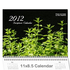 Gift Calendar 2011 By Mary Stephens   Wall Calendar 11  X 8 5  (12 Months)   79s2ryd0k5ge   Www Artscow Com Cover