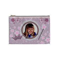 Little Princess Medium Cosmetic Bag By Lil    Cosmetic Bag (medium)   Dgjtc3fripqs   Www Artscow Com Front
