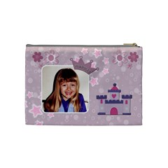 Little Princess Medium Cosmetic Bag By Lil    Cosmetic Bag (medium)   Dgjtc3fripqs   Www Artscow Com Back