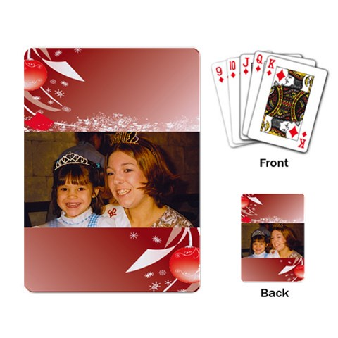 Queen And Princess Cards By Kimmy   Playing Cards Single Design   Vw7hojgjw7en   Www Artscow Com Back