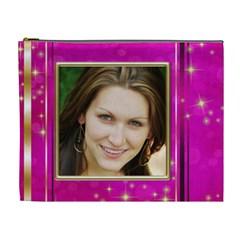 Party Girl (xl) Cosmetic Bag By Deborah   Cosmetic Bag (xl)   N2s5n4s2f86c   Www Artscow Com Front