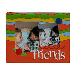 Xl Cosmetic Bag: Friends By Jennyl   Cosmetic Bag (xl)   0p81jgf2vh6p   Www Artscow Com Front