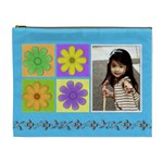 flower faith - Cosmetic Bag (XL)