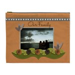 XL Cosmetic Bag: Our Family - Cosmetic Bag (XL)