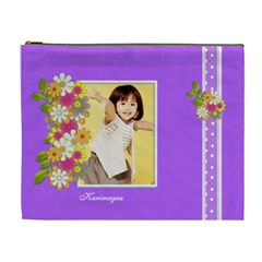 Flower Faith   3 By Angel   Cosmetic Bag (xl)   V7xkzbpcsy43   Www Artscow Com Front
