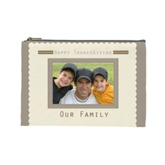 Our Family By Joely   Cosmetic Bag (large)   Wubo4mqpq0kc   Www Artscow Com Front