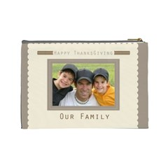 Our Family By Joely   Cosmetic Bag (large)   Wubo4mqpq0kc   Www Artscow Com Back
