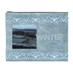 Winter Wonderland Extra Large Cosmetic Bag - Cosmetic Bag (XL)