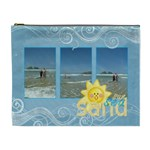 Sun Sea Sand Extra large Cosmetic Bag - Cosmetic Bag (XL)