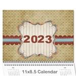 calandar 2015 - Wall Calendar 11  x 8.5  (12-Months)