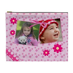 Little Princess   Cosmetic Bag (xl) By Picklestar Scraps   Cosmetic Bag (xl)   Ebpgsqt5witi   Www Artscow Com Front