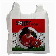 Soccer Mom  Recycle Bag (2 Sides) By Mikki   Recycle Bag (two Side)   3le5nzzsv8xv   Www Artscow Com Front