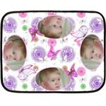 Baby butterfly Mini Fleece - Fleece Blanket (Mini)